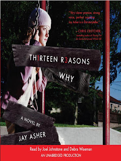 audiobook cover for Thirteen Reasons Why by Jay Asher
