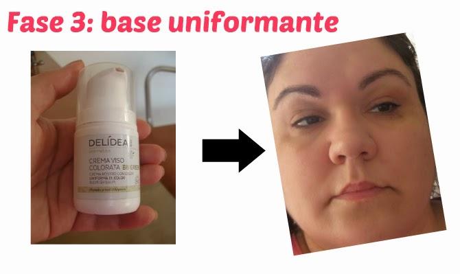fase 3: uniformare il viso con prodotti ecobio