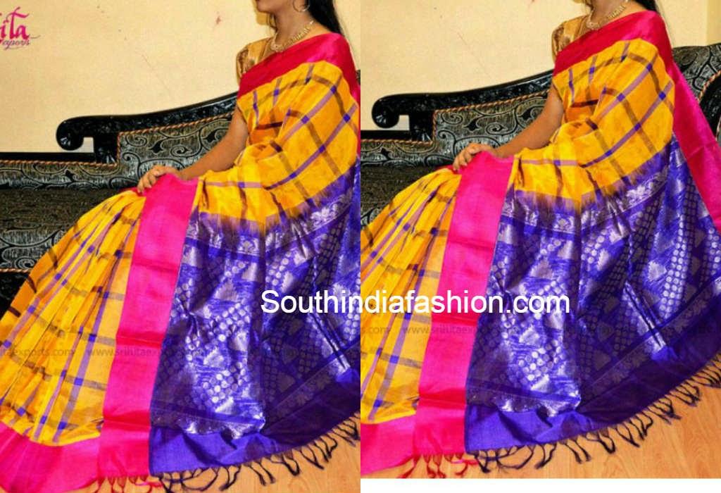 light weight silk saree online