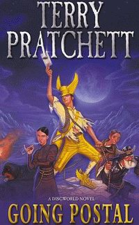 "Cover of ""Going Postal"", a novel by Terry Pratchett"