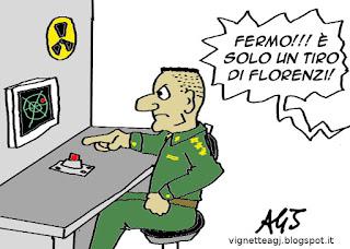 Florenzi, A.S.Roma, Barcellona, calcio, sport, umorismo vignetta