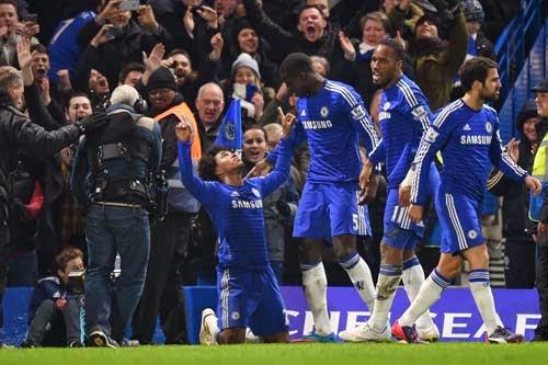 Chelsea vs. Everton 1-0 Highlight Goal Premier League 11-02-2015