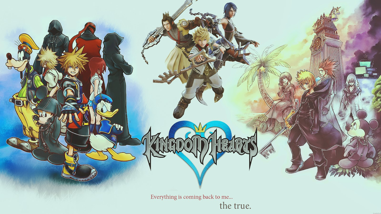 kingdom Heart HD & Widescreen Wallpaper 0.902048538951539