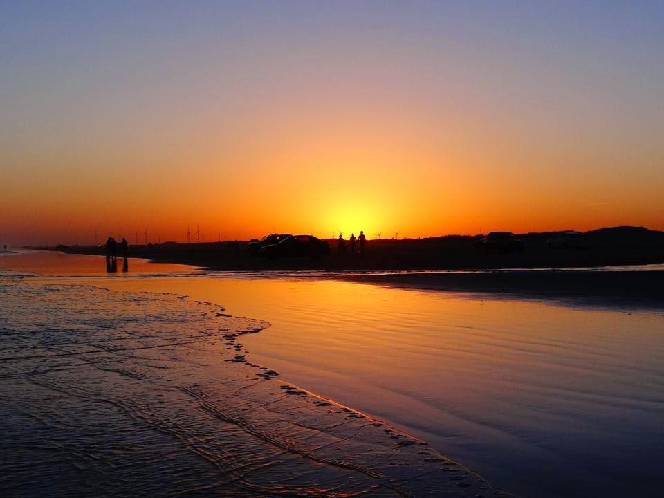 Por do Sol na Praia do Cassino