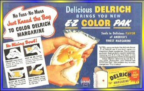 Sharing Memories of Kneading Bags of White Margarine to Spread the Yellow Dye