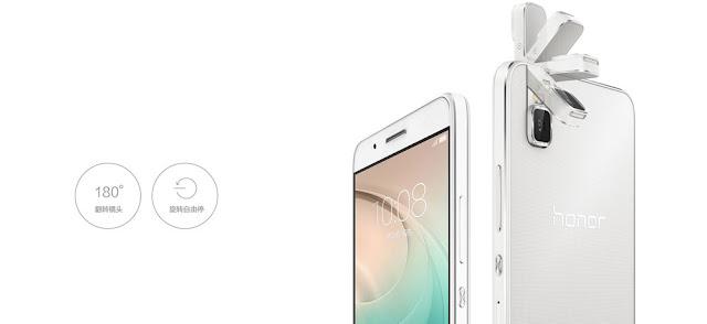 Huawei Honor 7i resmi dirilis, menawarkan kamera 13 MP yang bisa diputar