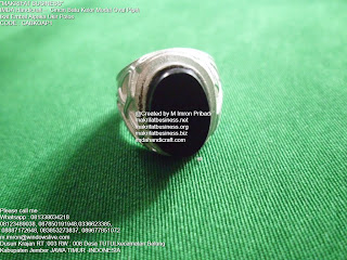 Cincin Batu Kelor : Cincin Akik Batu Kelor Model Oval Ikat Emban