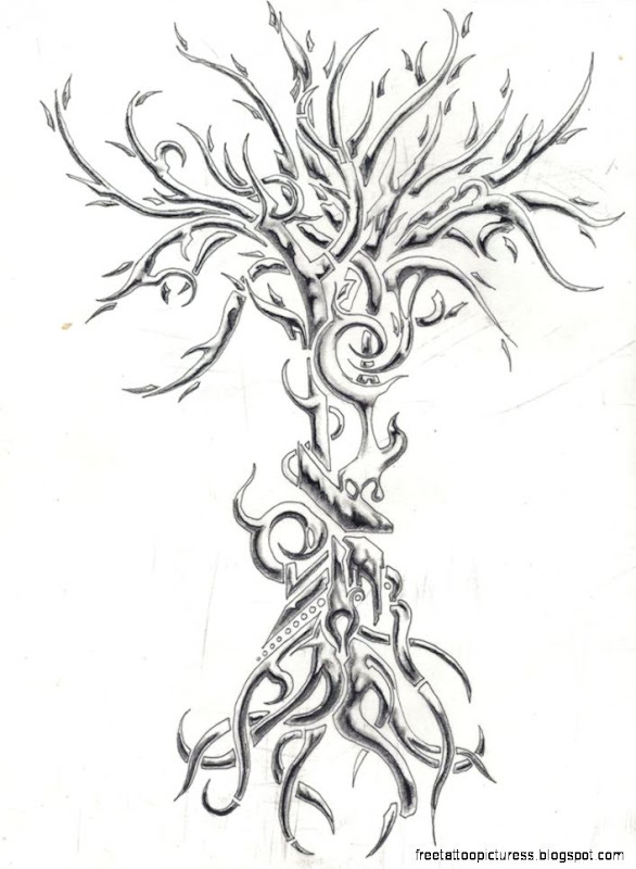 DeviantArt More Artists Like Split Tree Tatoo by joshuapeople