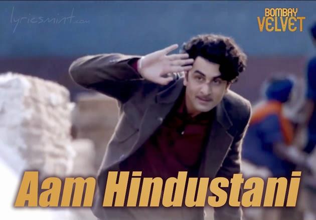 Aam Hindustani from Bombay Velvet