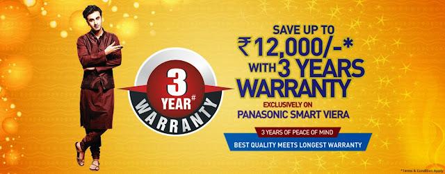 Panasonic Diwali Offers 2013 on Viera TV & Audio System