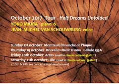 Yoko Miura & J-M Van Schouwburg tour October 17