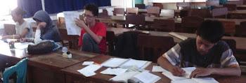 Peserta Pelatihan Olimpiade Fisika SMAN 9 Bandarlampung 2012-2013