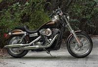 Harley-Davidson Super Glide Custom 110th Anniversary Edition (2013) Side