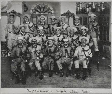 Guerra de Cuba, voluntarios españoles