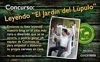 El jard n del l pulo el blog de cerveza concurso foto for El jardin del lupulo