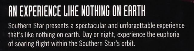 extract from advertising page for southern star
