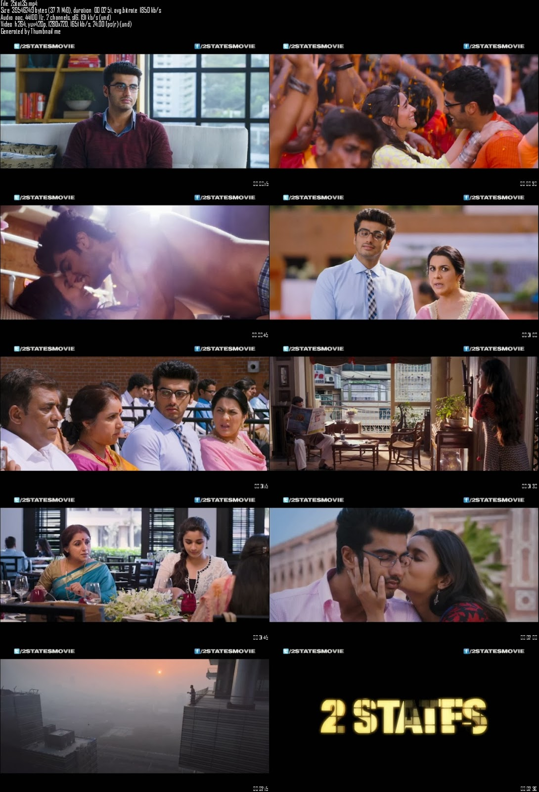 Mediafire Resumable Download Link For Teaser Promo Of 2 States (2014)