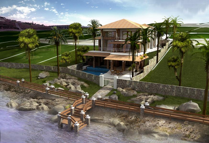 3d Front Europe Modern House 3d Design American House