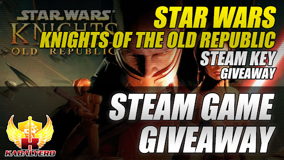 STEAM Game Giveaway, Star Wars: Knights Of The Old Republic STEAM Key Giveaway