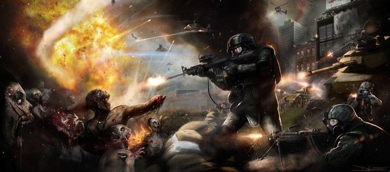 Arte conceptual de Guerra Mundial Z