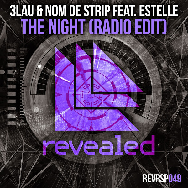 3LAU & Nom de Strip – The Night (feat. Estelle) [Radio Edit] Cover
