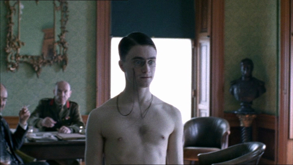 Curiously Shirtless daniel radcliffe naked