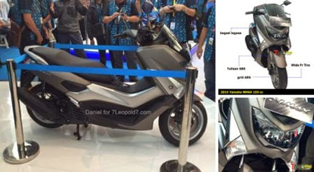 gambar motor Yamaha NMAX 2015