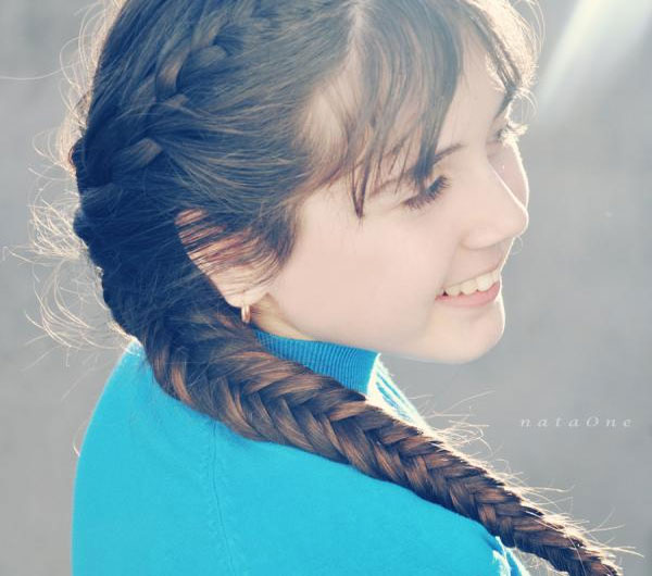 Long French Braid Hairstyle