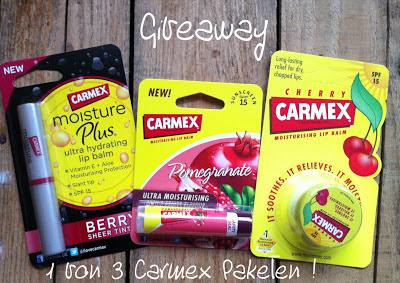 Giveaway Carmex