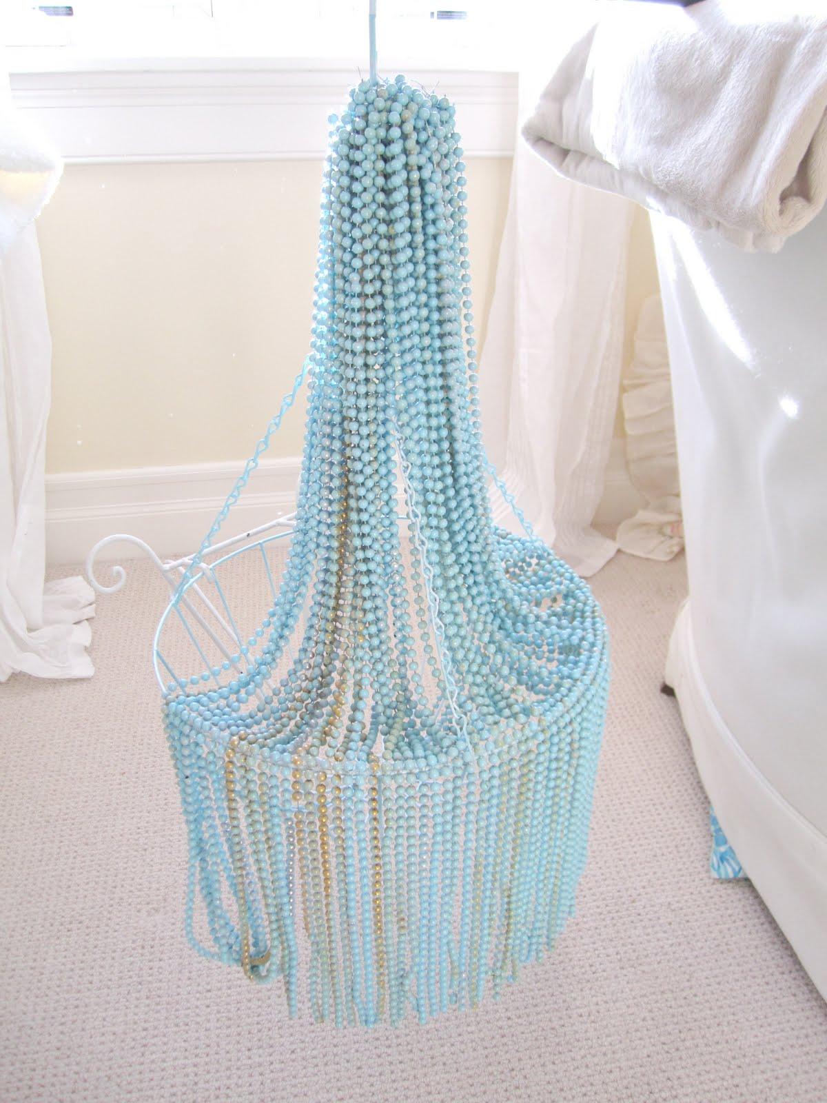 Pad t Hoke DIY chandelier