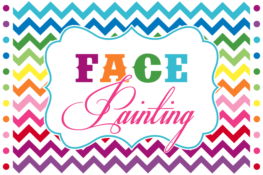 Face Painting Signs http://girafficarts.blogspot.com/2012_05_01_archive.html