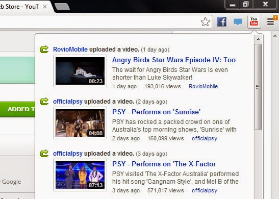 Youtube Feed