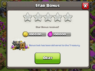COC update 8.116.2 bonus star loot