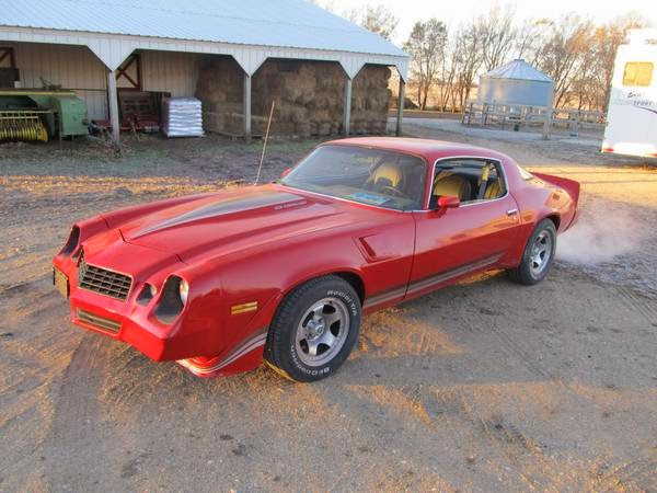 1981 chevy camaro z28 for sale buy american muscle car. Black Bedroom Furniture Sets. Home Design Ideas