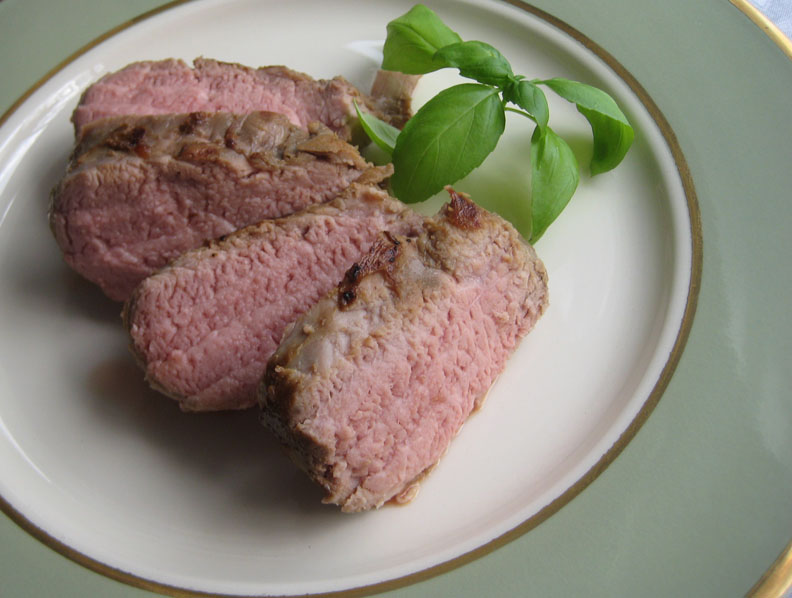 ... - recipes, recaps, and restaurant reviews: Sous Vide Pork Tenderloin