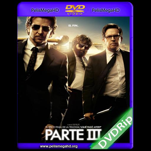 ¿QUE PASO AYER? PARTE III (2013) DVDRIP INGLÉS SUB.