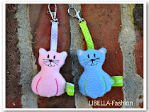 Katzen-Anhänger Stickdatei