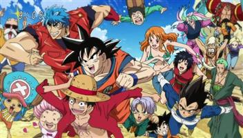 Download Especial: Toriko x Dragon Ball Z x One Piece