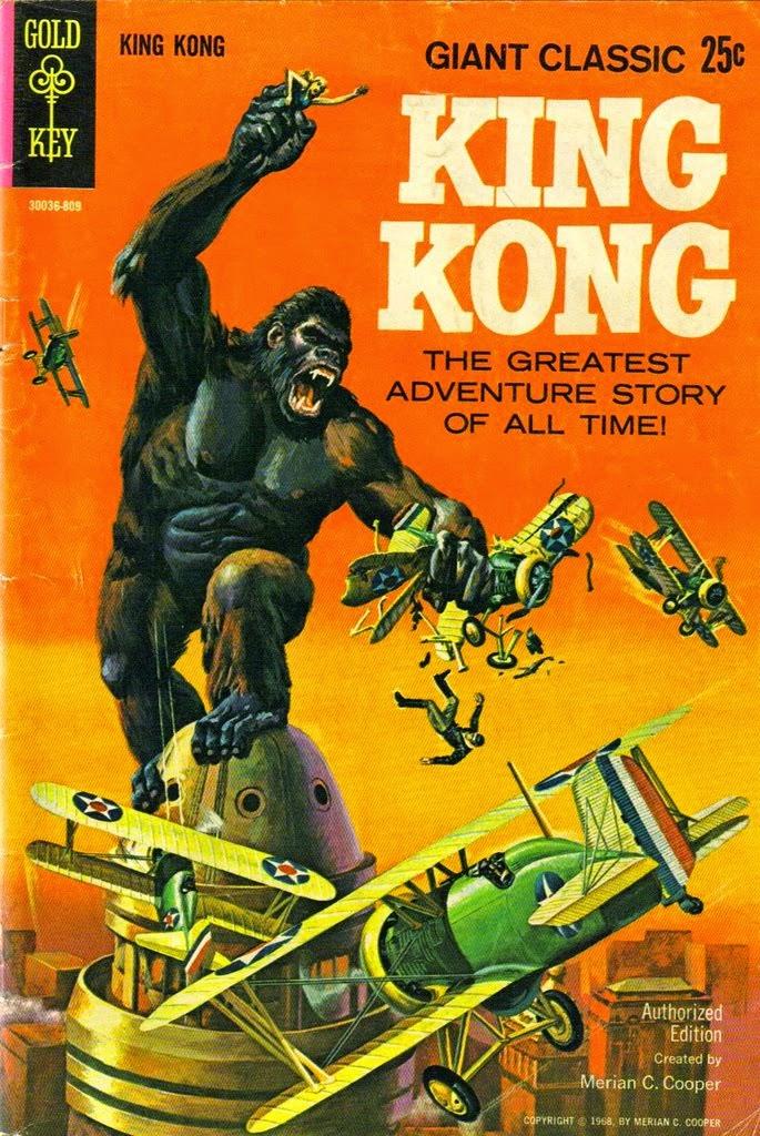 BEACH BUM COMICS : KING KONG ! THE GREATEST ADVENTURE STORY OF ALL ...