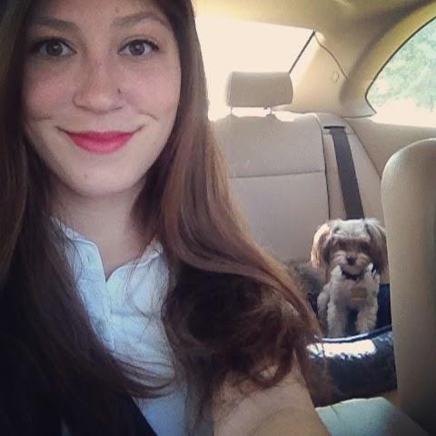 road trip, car trip, Franklin, red lipstick