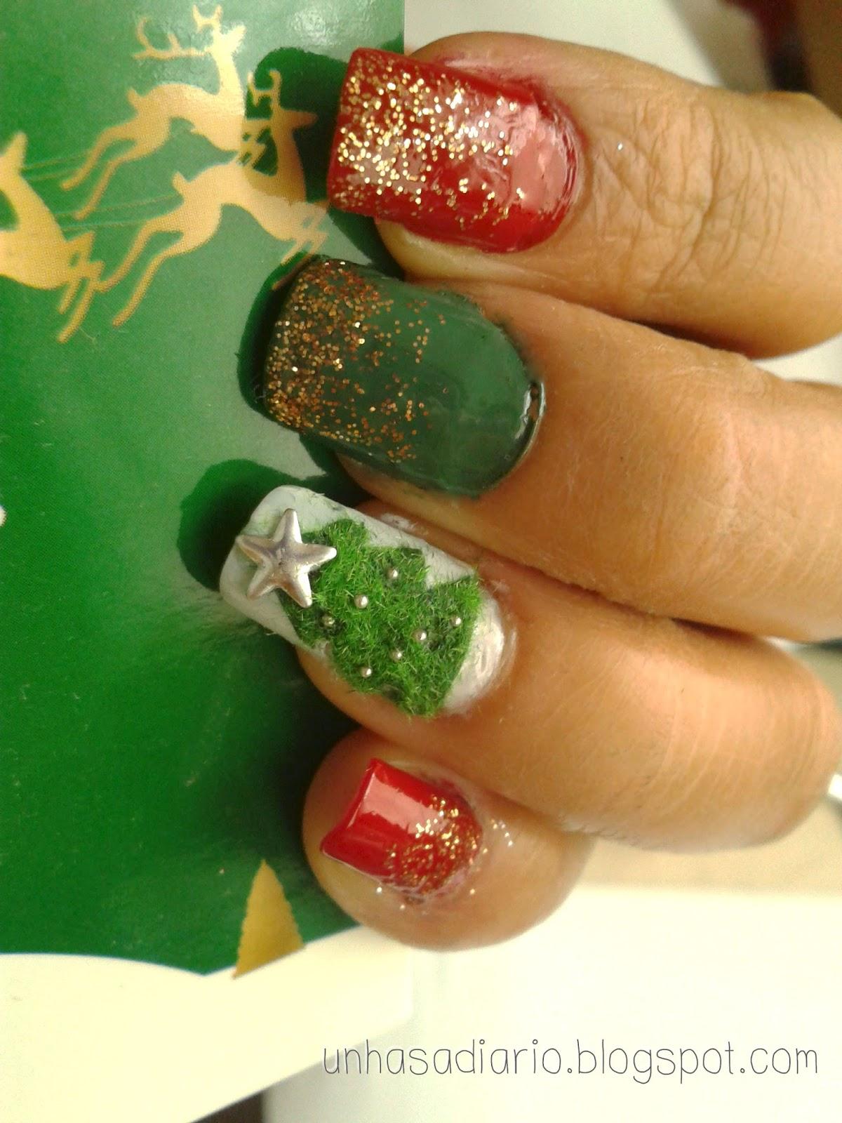 Moderno Uñas De Navidad 2015 Molde - Ideas de Pintar de Uñas ...