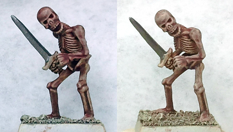 Dry Brushing Painting Miniatures