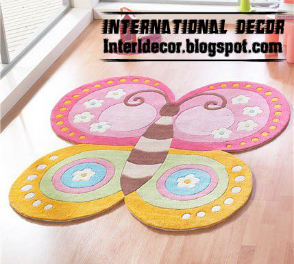 Modern Carpets models, colors for Kids & Girls room ...