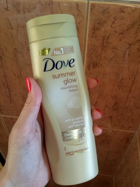 Dove Summer Glow - fair to medium skin