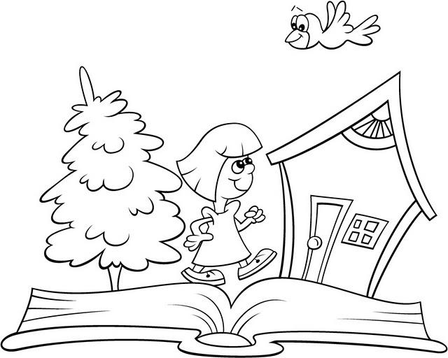 Imagenes y fotos: Dibujos Dia del Estudiante para Pintar, parte 1