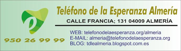 TELÉFONO DE LA ESPERANZA, ALMERÍA