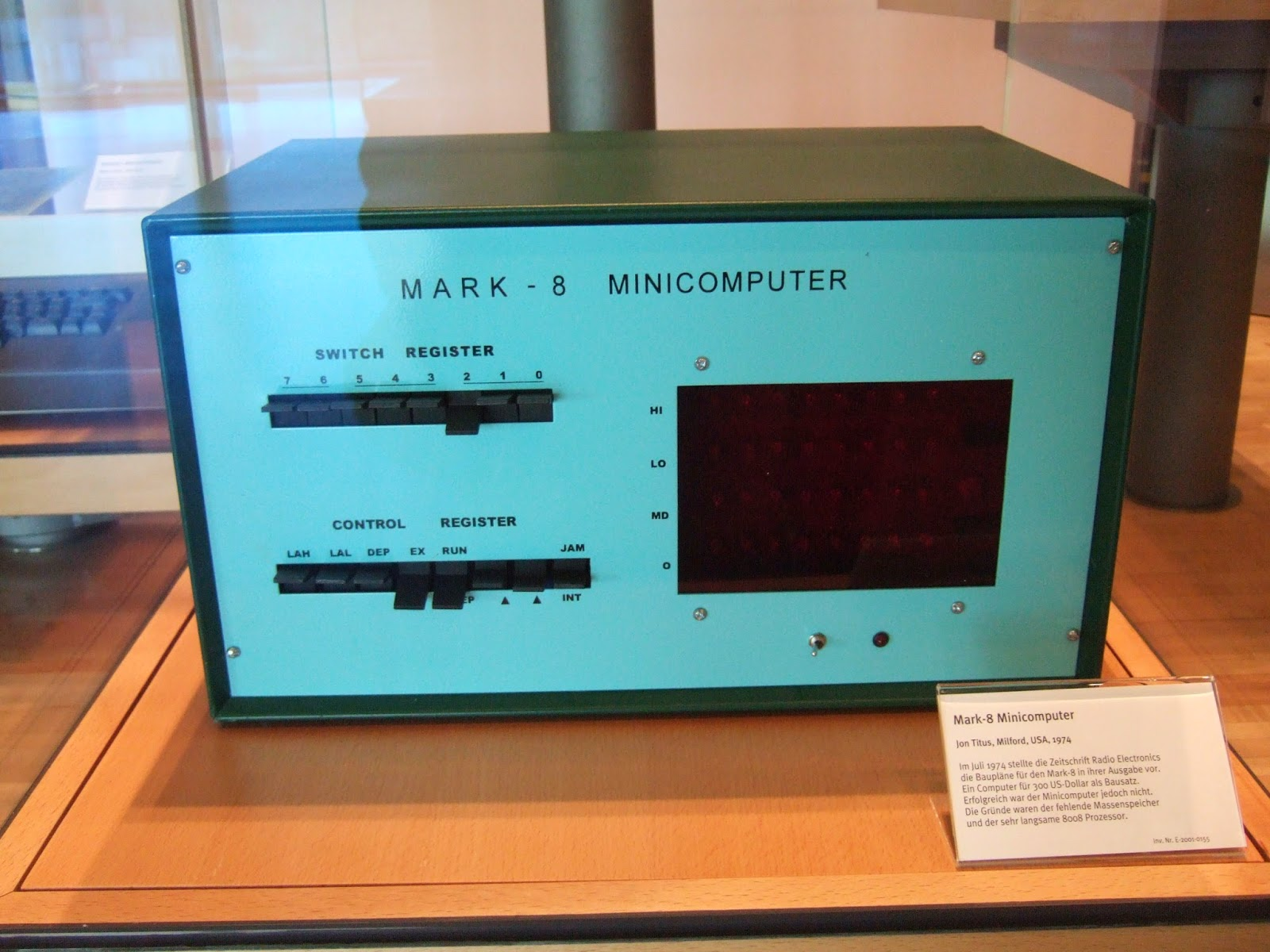 MARK 8 microcomputer