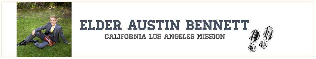 Austin's Mission Blog