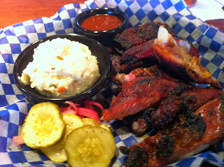 Famous Dave's Bar-B-Que Barbecue Barbeque BBQ Bar-B-Q Denver Colorado Ribs