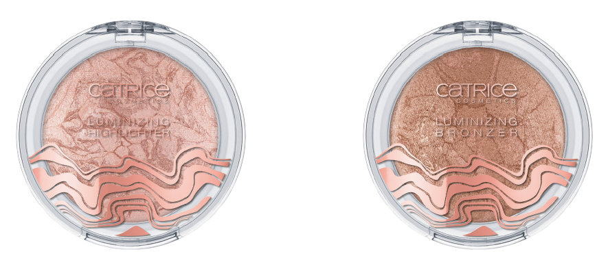 Catrice Lumination LE: Luminizing Highlighter C01 Luminous Light und Bronzer C01 New Bronze Age